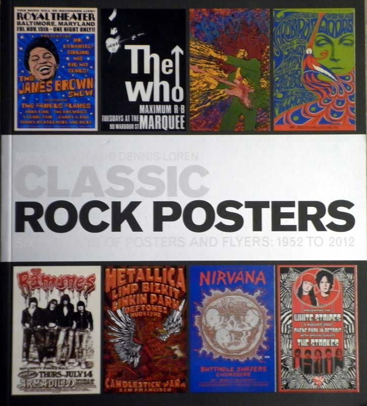 David Bowie Classic Rock Posters Book 2012 Book