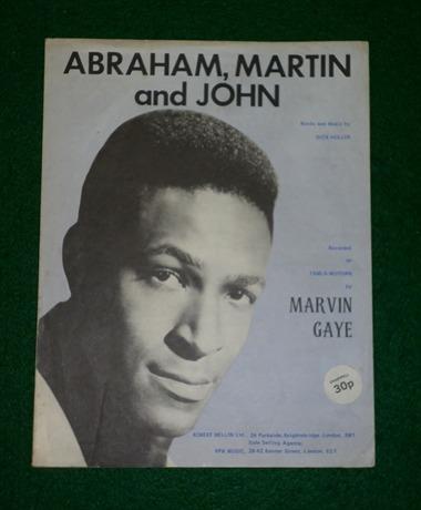 Marvin gaye abraham martin and john