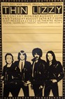 Thin Lizzy Nottingham Gig Poster 1982