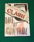 Clash Out of Control Flyer 1984