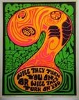 Anti Drugs Psychedelic Poster 1970