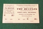 Beatles Ticket Balmoral Belfast 1964