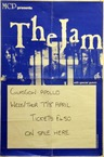 The Jam Glasgow Apollo Concert Poster 1982